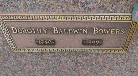 BALDWIN BOWERS, DOROTHY - Mississippi County, Arkansas | DOROTHY BALDWIN BOWERS - Arkansas Gravestone Photos