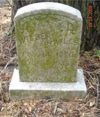 BOWLES, WILBER - Mississippi County, Arkansas | WILBER BOWLES - Arkansas Gravestone Photos