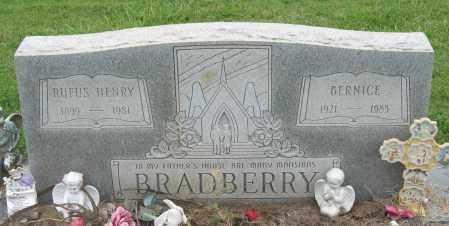 BRADBERRY, BERNICE - Mississippi County, Arkansas | BERNICE BRADBERRY - Arkansas Gravestone Photos