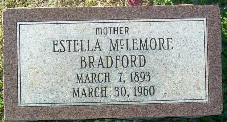 MCLEMORE BRADFORD, ESTELLA - Mississippi County, Arkansas | ESTELLA MCLEMORE BRADFORD - Arkansas Gravestone Photos
