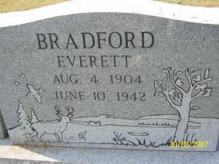 BRADFORD, EVERETT - Mississippi County, Arkansas | EVERETT BRADFORD - Arkansas Gravestone Photos