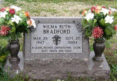 BRADFORD, WILMA RUTH - Mississippi County, Arkansas   WILMA RUTH BRADFORD - Arkansas Gravestone Photos