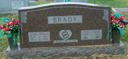 BRADY, JAMES DONALD - Mississippi County, Arkansas | JAMES DONALD BRADY - Arkansas Gravestone Photos