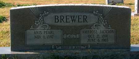 BREWER, AMBROSE JACKSON - Mississippi County, Arkansas | AMBROSE JACKSON BREWER - Arkansas Gravestone Photos