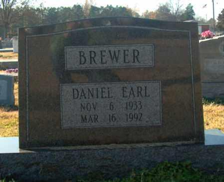 BREWER, DANIEL EARL - Mississippi County, Arkansas   DANIEL EARL BREWER - Arkansas Gravestone Photos