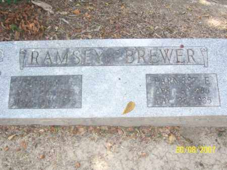 BREWER, ERNEST E. - Mississippi County, Arkansas | ERNEST E. BREWER - Arkansas Gravestone Photos