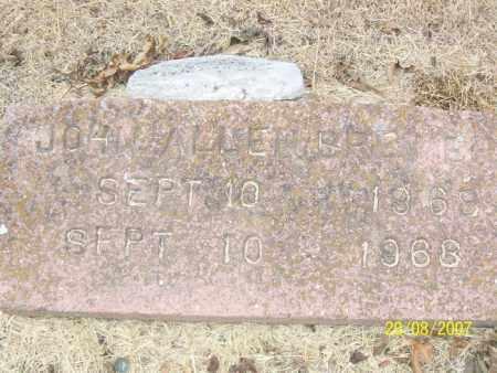 BREWER, JOHN ALLEN - Mississippi County, Arkansas | JOHN ALLEN BREWER - Arkansas Gravestone Photos