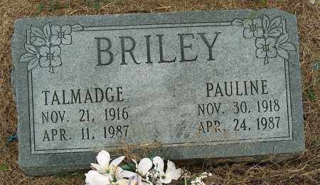BRILEY, TALMADGE - Mississippi County, Arkansas | TALMADGE BRILEY - Arkansas Gravestone Photos