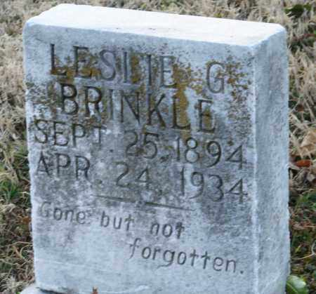 BRINKLE, LESLIE G. - Mississippi County, Arkansas   LESLIE G. BRINKLE - Arkansas Gravestone Photos