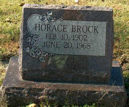 BROCK, HORACE - Mississippi County, Arkansas | HORACE BROCK - Arkansas Gravestone Photos