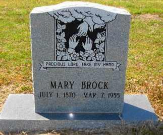 BROCK, MARY - Mississippi County, Arkansas | MARY BROCK - Arkansas Gravestone Photos