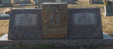 BROOM, LEWIS T - Mississippi County, Arkansas | LEWIS T BROOM - Arkansas Gravestone Photos