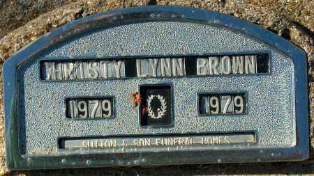 BROWN, CHRISTY LYNN - Mississippi County, Arkansas | CHRISTY LYNN BROWN - Arkansas Gravestone Photos
