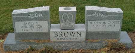 BROWN, JAMES E - Mississippi County, Arkansas | JAMES E BROWN - Arkansas Gravestone Photos