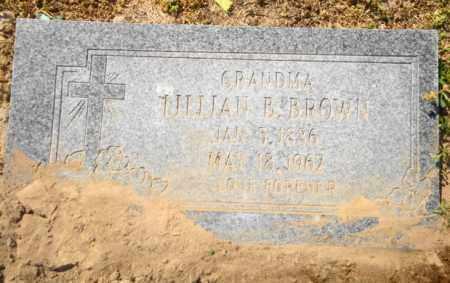 BROWN, LILLIAN B - Mississippi County, Arkansas   LILLIAN B BROWN - Arkansas Gravestone Photos