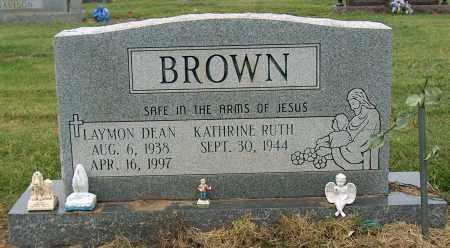 BROWN, LAYMON DEAN - Mississippi County, Arkansas | LAYMON DEAN BROWN - Arkansas Gravestone Photos