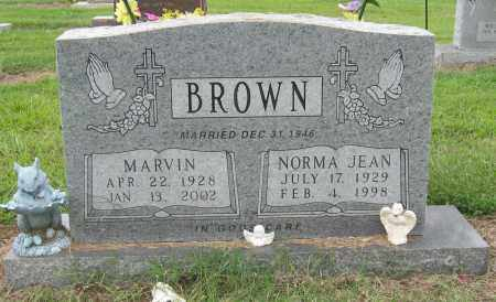 BROWN, NORMA JEAN - Mississippi County, Arkansas | NORMA JEAN BROWN - Arkansas Gravestone Photos