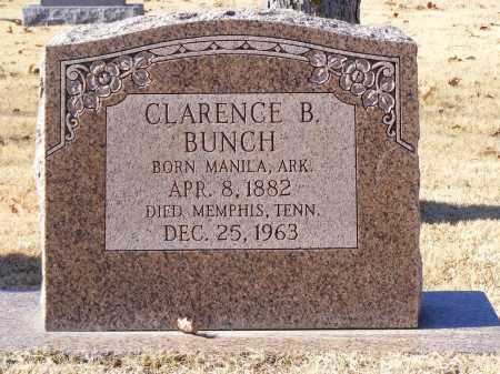 B. BUNCH, CLARENCE - Mississippi County, Arkansas | CLARENCE B. BUNCH - Arkansas Gravestone Photos