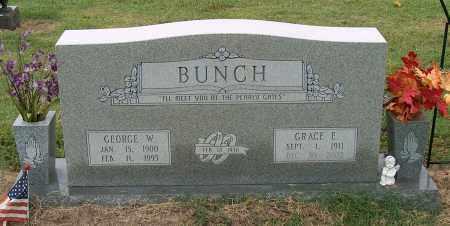 BUNCH, GEORGE W. - Mississippi County, Arkansas | GEORGE W. BUNCH - Arkansas Gravestone Photos