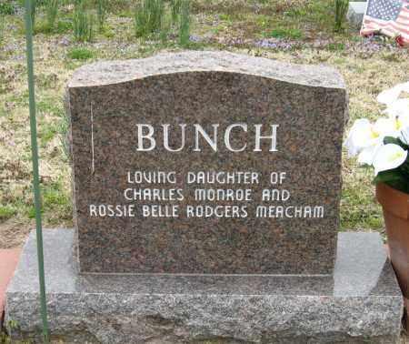 BUNCH, RHODELL - Mississippi County, Arkansas | RHODELL BUNCH - Arkansas Gravestone Photos
