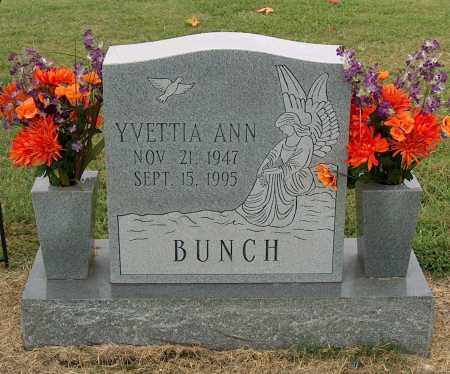 BUNCH, YVETTIA ANN - Mississippi County, Arkansas | YVETTIA ANN BUNCH - Arkansas Gravestone Photos
