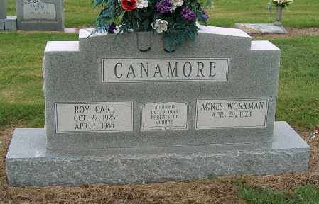 CANAMORE, ROY CARL - Mississippi County, Arkansas   ROY CARL CANAMORE - Arkansas Gravestone Photos