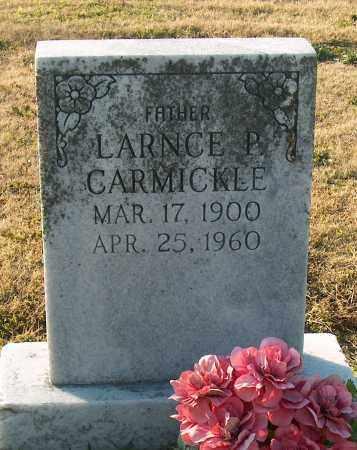 CARMICKLE, LARNCE P - Mississippi County, Arkansas | LARNCE P CARMICKLE - Arkansas Gravestone Photos