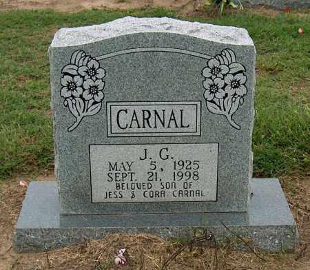 CARNAL, J.G. - Mississippi County, Arkansas | J.G. CARNAL - Arkansas Gravestone Photos