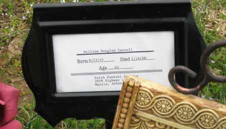 CARROLL, WILLIAM DOUGLAS - Mississippi County, Arkansas | WILLIAM DOUGLAS CARROLL - Arkansas Gravestone Photos