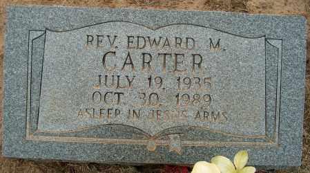 CARTER, REV. EDWARD M. - Mississippi County, Arkansas | REV. EDWARD M. CARTER - Arkansas Gravestone Photos