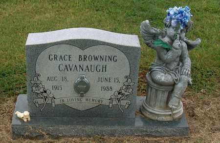 CAVANAUGH, GRACE BROWNING - Mississippi County, Arkansas | GRACE BROWNING CAVANAUGH - Arkansas Gravestone Photos