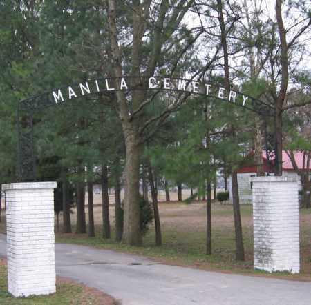 *MANILA, CEMETERY - Mississippi County, Arkansas | CEMETERY *MANILA - Arkansas Gravestone Photos