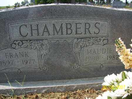 CHAMBERS, MAUDIE BELL - Mississippi County, Arkansas | MAUDIE BELL CHAMBERS - Arkansas Gravestone Photos