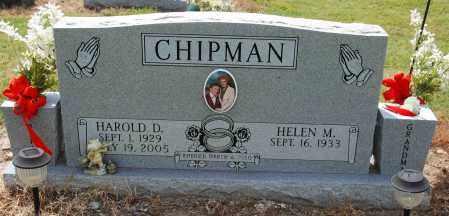 CHIPMAN, HAROLD D - Mississippi County, Arkansas   HAROLD D CHIPMAN - Arkansas Gravestone Photos