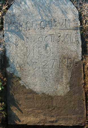 CHISUM, BOBY L - Mississippi County, Arkansas | BOBY L CHISUM - Arkansas Gravestone Photos