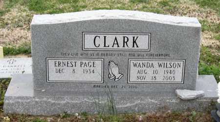 CLARK, ERNEST PAGE - Mississippi County, Arkansas | ERNEST PAGE CLARK - Arkansas Gravestone Photos