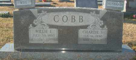 COBB, WILLIE I - Mississippi County, Arkansas | WILLIE I COBB - Arkansas Gravestone Photos