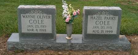 COLE, HAZEL - Mississippi County, Arkansas | HAZEL COLE - Arkansas Gravestone Photos