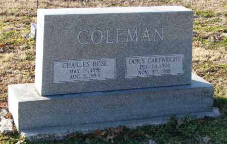 CARTWRIGHT COLEMAN, DORIS - Mississippi County, Arkansas | DORIS CARTWRIGHT COLEMAN - Arkansas Gravestone Photos