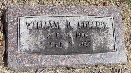 COLLIER, WILLIAM H - Mississippi County, Arkansas   WILLIAM H COLLIER - Arkansas Gravestone Photos