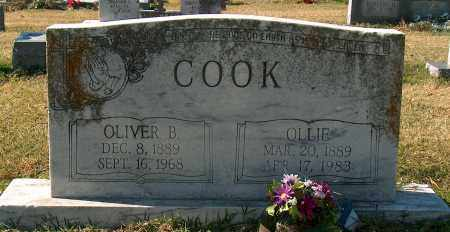 COOK, OLIVER B - Mississippi County, Arkansas | OLIVER B COOK - Arkansas Gravestone Photos