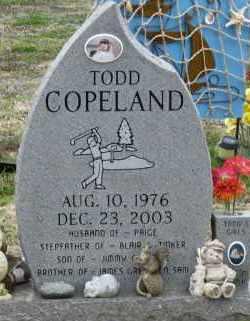 COPELAND, TODD - Mississippi County, Arkansas   TODD COPELAND - Arkansas Gravestone Photos