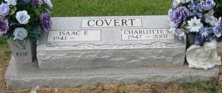 COVERT, CHARLOTTE S. - Mississippi County, Arkansas   CHARLOTTE S. COVERT - Arkansas Gravestone Photos