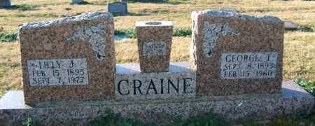 CRAINE, GEORGE T - Mississippi County, Arkansas | GEORGE T CRAINE - Arkansas Gravestone Photos
