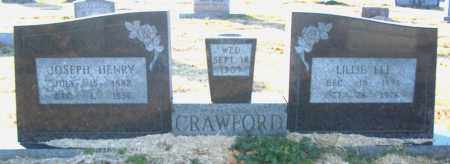 CRAWFORD, JOSEPH HENRY - Mississippi County, Arkansas | JOSEPH HENRY CRAWFORD - Arkansas Gravestone Photos