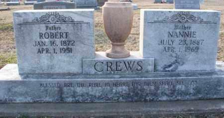 CREWS, NANNIE - Mississippi County, Arkansas | NANNIE CREWS - Arkansas Gravestone Photos