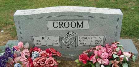 CROOM, DOROTHY A. - Mississippi County, Arkansas   DOROTHY A. CROOM - Arkansas Gravestone Photos