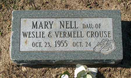 CROUSE, MARY NELL - Mississippi County, Arkansas | MARY NELL CROUSE - Arkansas Gravestone Photos