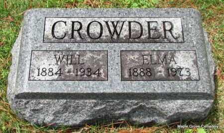 CROWDER, ELMA - Mississippi County, Arkansas   ELMA CROWDER - Arkansas Gravestone Photos