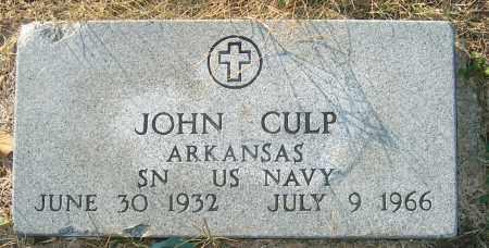CULP (VETERAN), JOHN - Mississippi County, Arkansas | JOHN CULP (VETERAN) - Arkansas Gravestone Photos